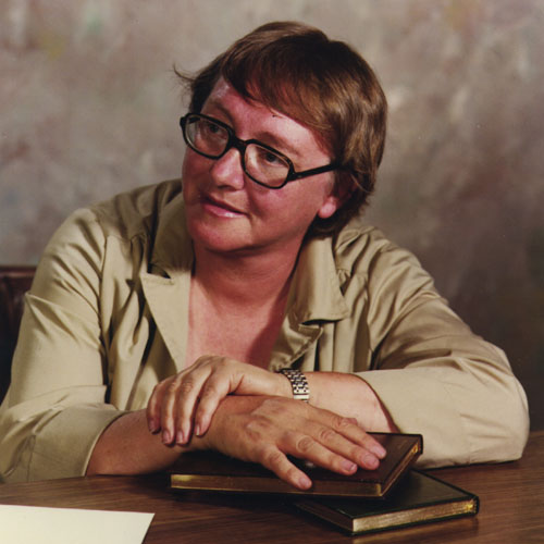 Color photo of Marion Zimmer Bradley